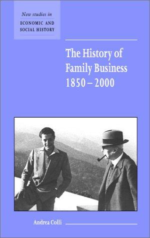 The History of Family Business 1850 - 2000